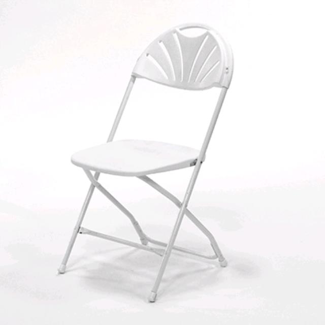 Where to find White Fan Back Samsonite Folding Chair in Chesapeake