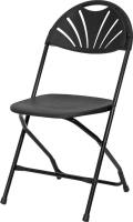 Rental store for Black Fan Back Samsonite Folding Chair in Chesapeake VA