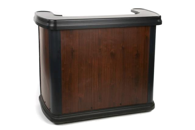 Where to find Black Resin Wood Grain Portable Bar in Chesapeake