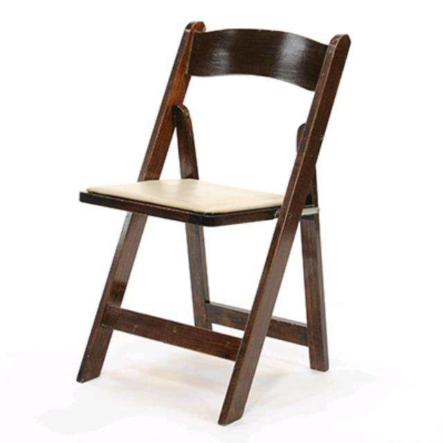 Where to find Fruitwood w Padded Seat Folding Chair in Chesapeake
