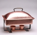 Rental store for Copper Iron Hammered RECT. Chafer 8Qt in Chesapeake VA